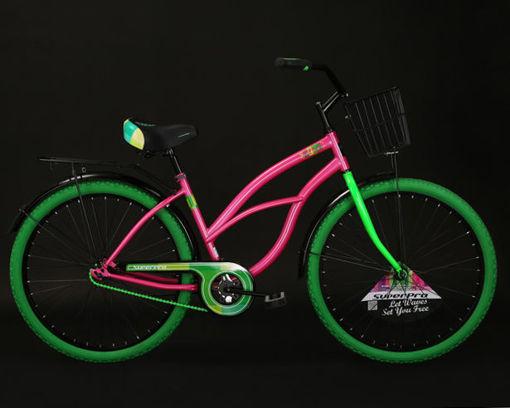 Imagen de Bicicleta Banana SuperPro Rosado/Verde 12622-026