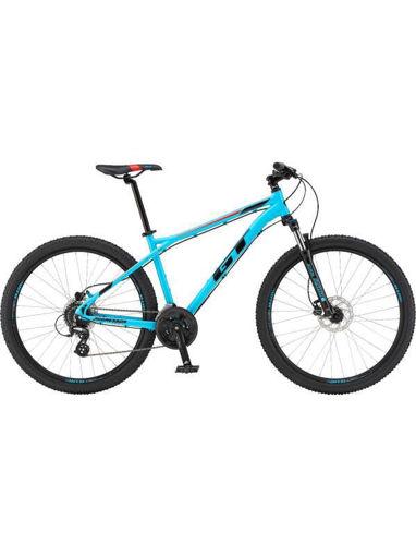 Imagen de Bicicleta MTB GT Aggresssor G28119M30MD Celeste/Negro