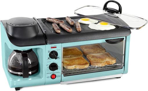 Imagen de Set de desayuno Nostalgia BSET300AQ/R 3en1