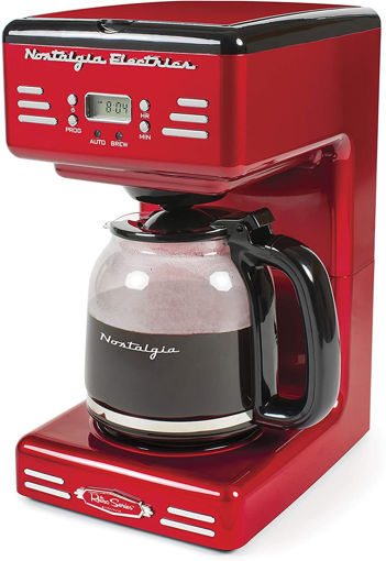 Imagen de Coffee Maker Nostalgia RCOF12RR