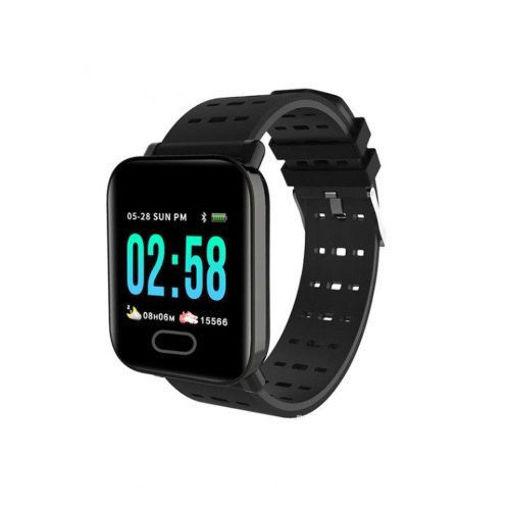 Imagen de Smart Bracelet ELK A6 Negro