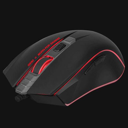 Imagen de Mouse Marvo Scorpion G930 Negro/Rojo