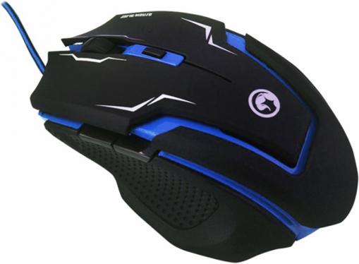 Imagen de Mouse Marvo Scorpion M319 Azul