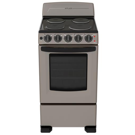 "Imagen de Cocina Atlas Electrica EAE5020BSMS0 20"" Slate"