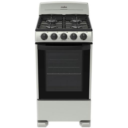 Imagen de Cocina Gas Mabe EM5032BAPSO Silver 50CM