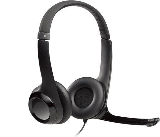 Imagen de Audifonos Logitech H390 Black USB