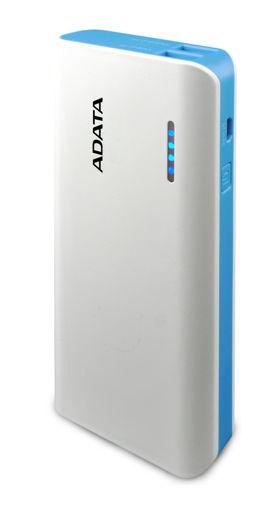 Imagen de Power Bank Adata APT100 White/Blue