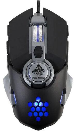 Imagen de Mouse Gamer Eagle Warrior Hive USB